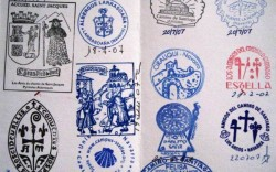An example of a Pilgrim's Passport