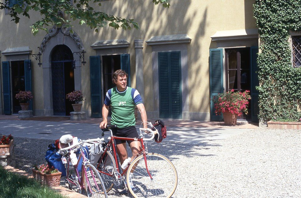 George Butterfield and his bike