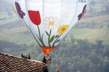 Butterfield & Robinson hot air balloon