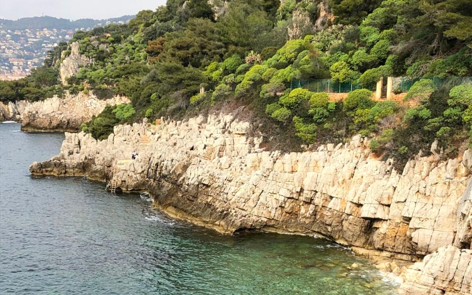 Saint Jean Cap Ferrat Coastal Walk